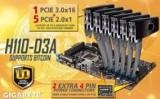 Kit mining-Cryptocurrency-Socket 1151, Pentru INTEL, LGA1151, DDR4, Asus