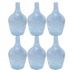 6 x Damigeana 3L, din sticla, fara dop