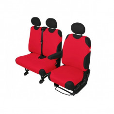 Set huse Automax pentru scaun auto, Rosu 9461R