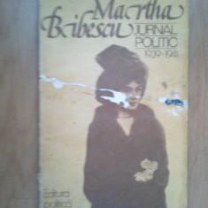 W1 Martha Bibescu - Jurnal politic 1939-1941