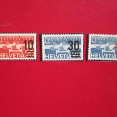 ELVETIA 1936 SERIE =MNH, Nestampilat