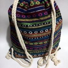 Rucsac Hippy - Geanta handmade
