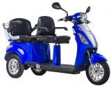 Tricicleta electrica Trilux 2.0 60V 20Ah Autonomie 60km AlbastruPB Cod:E00018-2