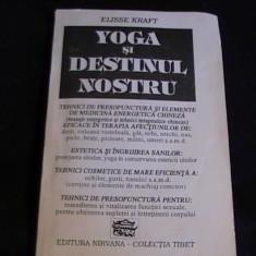 YOGA SI DESTINUL NOSTRU-ELISSE KRAFT-283 PG-, Alta editura