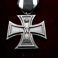 1914 Crucea de fier Germania WW1, medalie originala germana veche cu panglica, Europa
