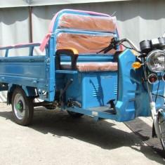 Cargo electric vehicul transport Carrier 60V60Ah Blue Eec Autonomie 75Km AlbastrPB Cod:E00030-EEC-2