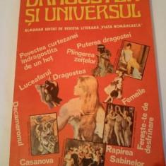Dragostea si Universul, Almanah editat de revista literara Viata Romaneasca 1987