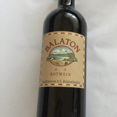Vin rosu de colectie vechi BALATON UNGARN 2005 - Vinde Colectie, Aroma: Sec, Sortiment: Alb, Zona: Alta
