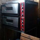 Vand cuptor electric pizza 2 corpuri, 3500 W