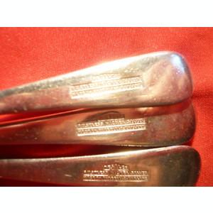 Set 4 Lingurite marca Resilco -Nichel- Argint producator Sheffield, L=13,5 cm