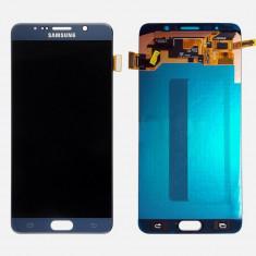 Display ecran LCD touch screen digitizer Samsung Galaxy Note 5 fara rama, ALB - Display LCD