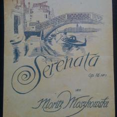 Serenata, op. 15 no. 1/ Moritz Moszkowski// partitura