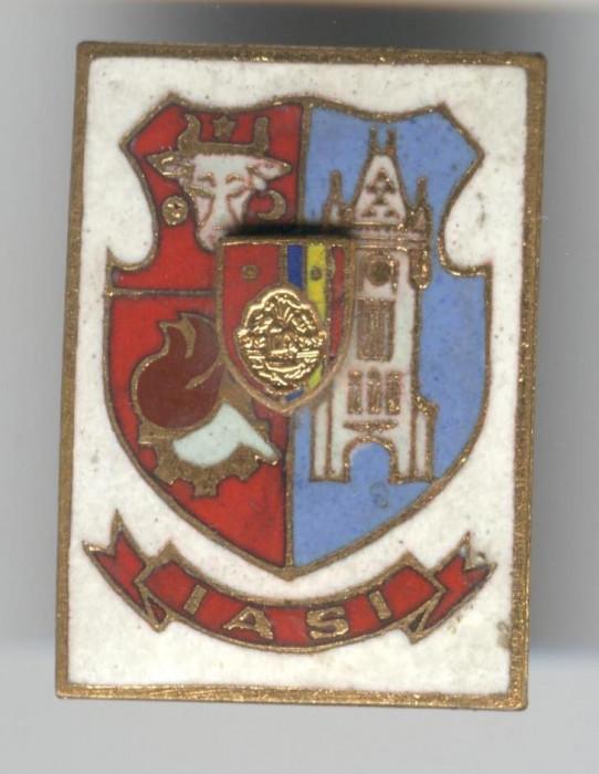 Insigna  HERALDICA - Republica Socialista Romania - stema IASI