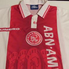 Tricou fotbal - AJAX AMSTERDAM (Olanda) - Tricou echipa fotbal, Marime: L, Culoare: Din imagine, De club, Maneca scurta