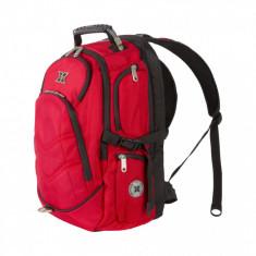 Rucsac notebook Serioux SRX-BPK-TRIP-RD, max 15.6 inch, nylon 1680D, rosu - Geanta laptop Serioux, Nailon