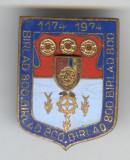 Insigna  HERALDICA - Republica Socialista Romania - stema BARLAD