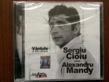 sergiu cioiu canta alexandru mandy vantule si alte cantece dublu disc 2 cd nou