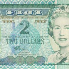 Bancnota Fiji 2 Dolari (2002) - P104 UNC