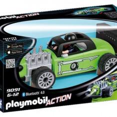 Masina de curse cu telecomanda verde - Playmobil