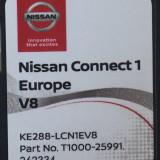 SD Card original navigatie NISSAN Connect 1 V8 Europa + ROMANIA 2018