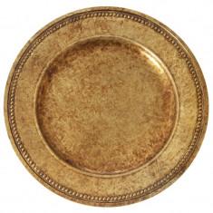 Platou Antique aspect vintage diametru 33 cm