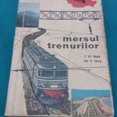 MERSUL TRENURILOR* 1. IV 1969- 30. V 1970