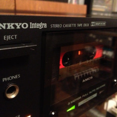 Stereo Cassette Tape Deck ONKYO INTEGRA TA-R77 - Impecabil/Rar/Made in Japan - Deck audio