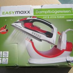 Fier de calcat Cleanmaxx 2200w cu fir detasabil