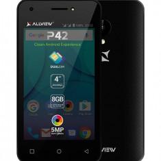 Smartphone Allview P42 8GB Dual Sim 3G Black - Telefon Allview