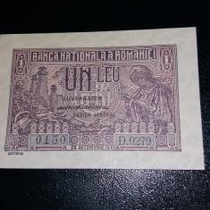 Bancnote romanesti 1leu 1937 unc - Bancnota romaneasca