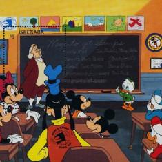 Grenada 1989 - Disney, colita neuzata - Timbre straine