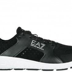Sneakers Armani Emporio - Adidasi barbati, Marime: 43 1/3, Culoare: Negru