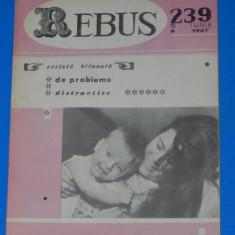 REVISTA REBUS 1967 NR 239 5 iunie 1958 - Revista femei