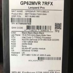 MSI Leopard Pro - Laptop MSI, Intel Core i7, 1 TB, Diagonala ecran: 15