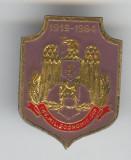 INVATAMANTUL MILITAR ECONOMIC din Bucuresti - Insigna MILITARA - Superba