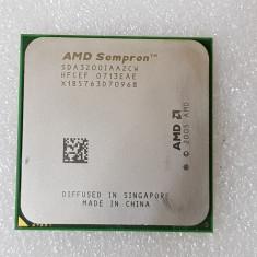 Procesor AM2 AMD Sempron 3200+ 1800 MHz - poze reale - Procesor PC AMD, Numar nuclee: 1, 1.0GHz - 1.9GHz