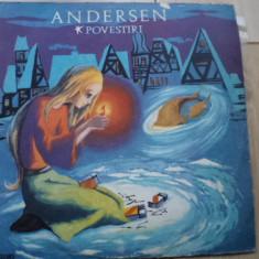 ANDERSEN povestiri BASME PRIVIGHETOAREA FETITA CU CHIBRITURILE DISC VINYL copii - Muzica pentru copii electrecord, VINIL