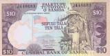 Bancnota Samoa 10 Tala (2005) - P34b UNC