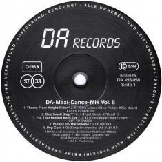 DA Maxi-Dance-Mix Vol. 5 (1988, DA Records) disc vinil Maxi Single italo-disco - Muzica Dance