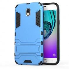 Husa Samsung Galaxy J7 2017 - Hybrid Stand, Alt model telefon Samsung, Albastru, Plastic