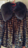 Vand haina de blana nurca naturala 100%