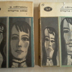 George Calinescu - Enigma Otiliei, Vol. 1, 2 - Roman