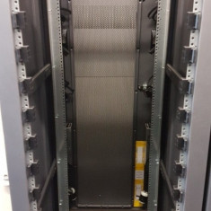Cabinet Rack Server EMC 40U T-Rack1, Gri Metalic, Refurbished