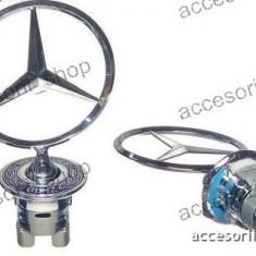 Emblema capota mercedes - Embleme auto, Mercedes-benz, E-CLASS (W210) - [1995 - 2002]