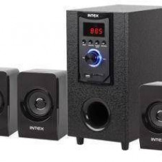 Boxe Intex 5.1 IT400SUF Putere RMS: 20W + 5Wx5 Negru - Boxe PC