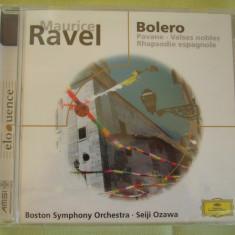 MAURICE RAVEL - Bolero - C D Original ADD (Deutsche Grammophon) Sigilat