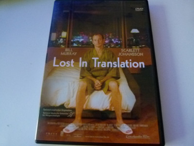 Lost in translation - dvd foto