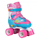 Patine cu rotile Rookie Fab JR blue/pink