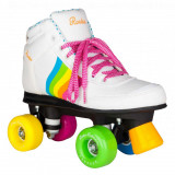 Patine cu rotile Rookie Forever Rainbow White, 37, 38