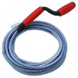 Sarpe pentru desfundat tevi de scurgere lungime 15 m, diametru 0.9 mm